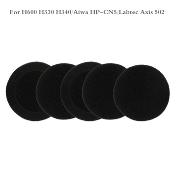 5 Pairs of Foam Ear Pads Cushion Cover for logitech- H600 H 600 Wireless Headset image