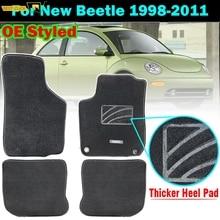 Custom Floor Mat Mats For VW New Beetle 1998   2011 Waterproof Carpet Nylon Liner 2000 2001 2002 2003 2004 2005 2006 2007 2008