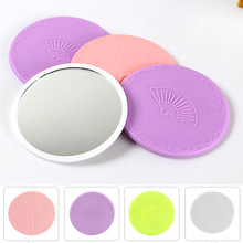 Mini Cute Mirror Lovely Portable Makeup Small Pocket Travel One Sided