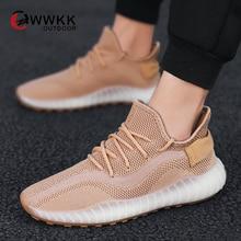 WWKK, осенняя спортивная обувь для мужчин, Спортивная мужская обувь, мужские кроссовки на шнуровке, дышащая спортивная обувь, светильник, мужская обувь, chaussure homme