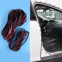 DWCX Car Black Rubber 26m Door Trunk Seal Noise Reduction Rubber Strip Fit for Tesla Model 3