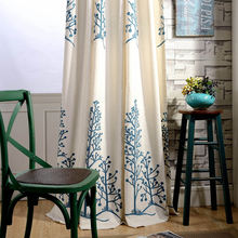Занавески Современные садовые в китайском стиле занавески из