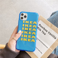 Etui z logiem IKEA do iPhone 7/8/X/XR/11 PRO