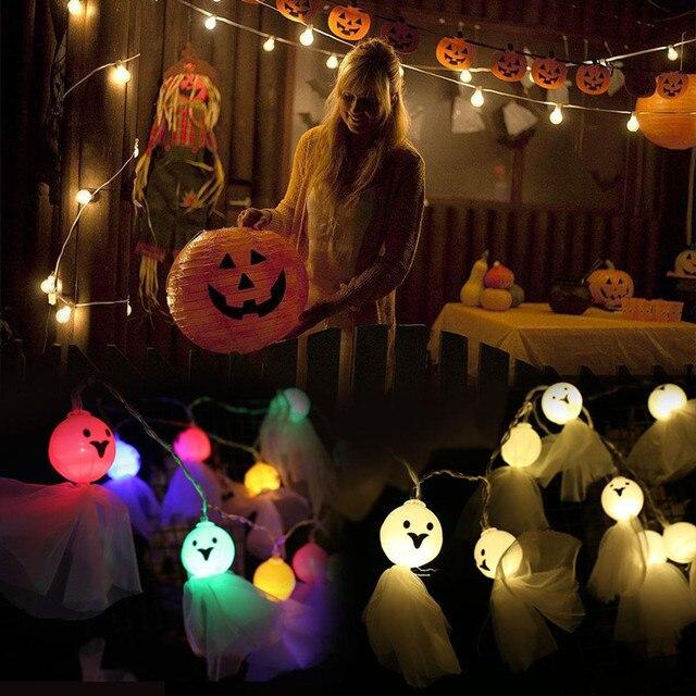 Фото 20 40 светодиодный светильник в форме куклы призрака для хэллоуина