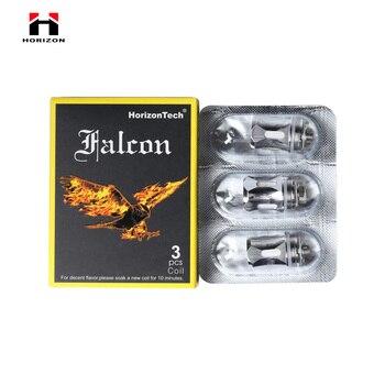 HorizonTech – bobine Falcon F1 F2 F3 M1M2, 15 pièces, tête de bobine de remplacement M double, pour Cigarette électrique Falcon King