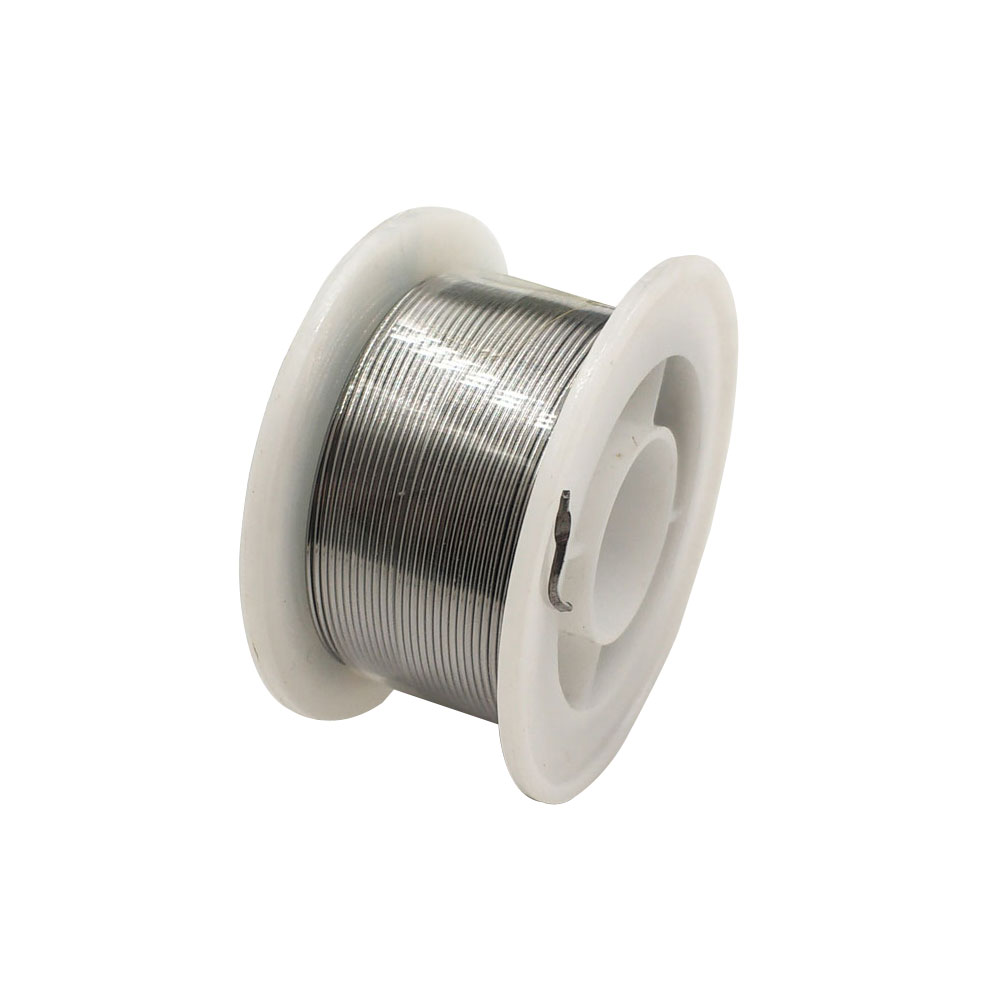 50g 0.8mm Solder Tin 1.0mm Low Melt Solder Soldering Lead Desoldering Wire 2.2% Flux For Electronics Repairs