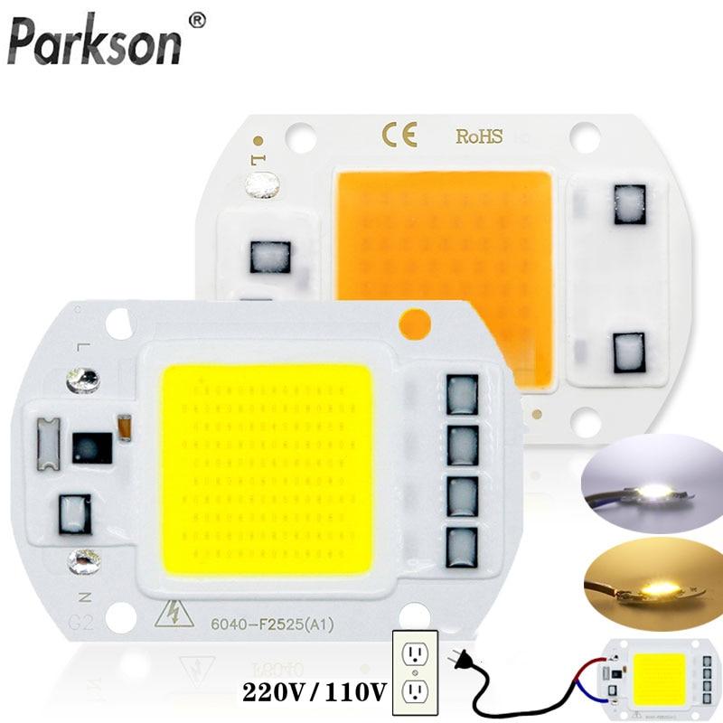 LED COB Chip Diode AC 220V 10W 20W 30W 50W No Need Driver Rectangular Chip For Spotlight Led Floodlight Lamp Lampada Led Bulb