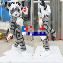 2020 Fox Cat Mascot Costume Suits Cosplay Party Game Dress Outfits Clothing Advertising Promotion Carnival Halloween Xmas(China)