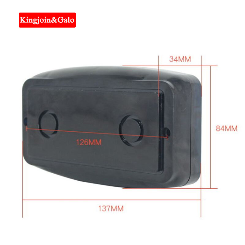 KJ&GALO Radar Vehicle Detector Barrier Sense Controller Replace Loop Detector Vehicle Detector No Need Loop Cable No Buried Wire