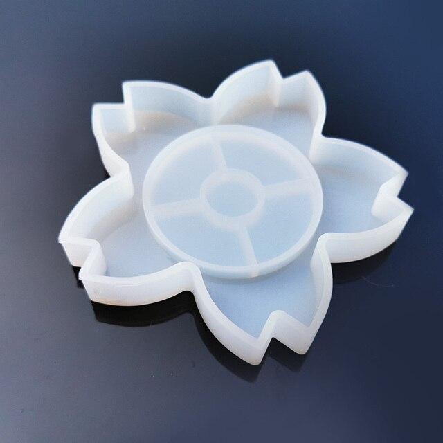 1 шт коврик для чашки Прозрачная силиконовая комбинированная