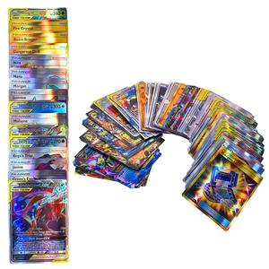 Image 3 - Jeu de cartes de 120 pièces, jouet avec une équipe de 30 étiquettes, 50 mega,19 entraîneurs, 1 énergie, 20 ultra bête