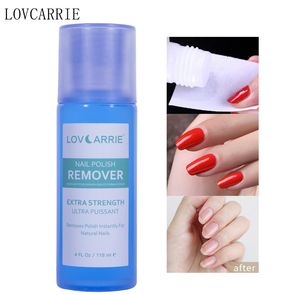NEW 118ML Nail Polish Remover Nail Degreaser Cleanser Plus Acetone Gel Remover Clip Manicure Tools for Natural Gel Acrylic Nails