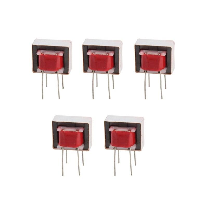 5Pcs 600:600 Ohm Europe 1:1 EI14 Isolation Transformer Ringing