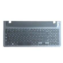 98% novo inglês teclado portátil com quadro para samsung np 355e5c np355v5c np300e5e np350e5c np350v5c BA59-03270A eua layout