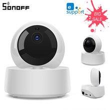SONOFF GK-200MP2-B Sans Fil Wifi Caméra IP Maison Système De Sécurité Intelligent Ewelink en temps Réel À Distance Moniteur 360 ° Sans Angle mort
