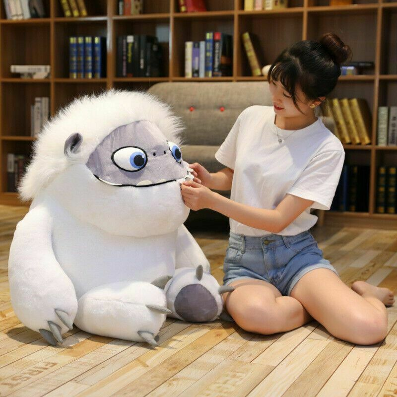 22'' Giant Abominable Everest Snowman Plush Toy Stuffed Doll Kid Christmas Gift Solid Color Plush Children Toy 2020 Hot Sale