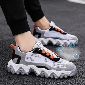 Image 5 - 2020 Fashion Casual Shoes Men Breathable Sneakers Leisure Mesh Men Shoes Tenis Masculino Krasovki Zapatos De Hombre Scarpe Uomo