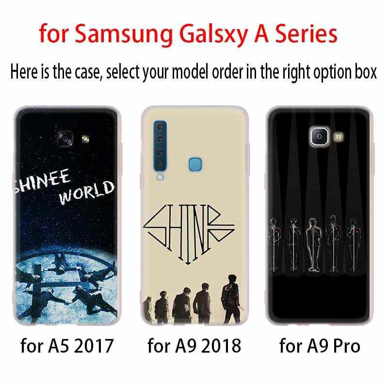 SHINee KPOP Boy ซิลิโคนสำหรับ Samsung A10 A10S A10E A20 A20S A20E A30 A30S A40 A40S A50 A60 A70 a70S A80 A90 M40