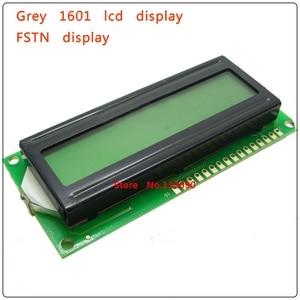 Image 4 - 10PCS/Lot 161 16X1 1601 16*1 Character LCD Module Display LCM with Yellow Green Grey FSTN HD44780/SPLC780D/KS0066 driver IC