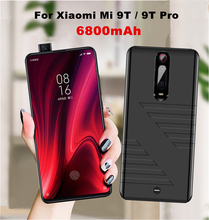 Portable Battery Charger Cover 6800mAh Power Bank Case For Xiaomi Mi 9T Pro Backup Battery Power Charging Case for Xiaomi Mi 9T
