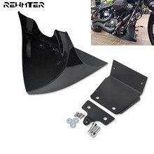 Motorcycle Lower Front Spoiler Air Dam Fairing Cover Black For Harley Sportster XL 48 883 1200 2004 2005 2006 2018 Models