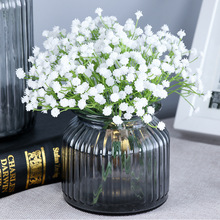 Mini Artificial Flowers Gypsophila Fake Flower DIY Scrapbooking Craft Table Decor For Wedding Party Decor Plastic Babies Breath