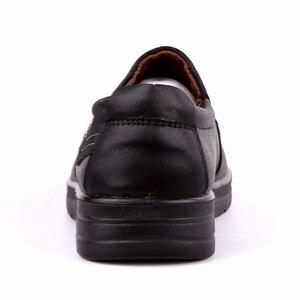 Image 4 - Nowy znak towarowy rozmiar 38 47 ekskluzywne męskie obuwie modne skórzane buty dla mężczyzn letnie męskie płaskie buty Dropshipping