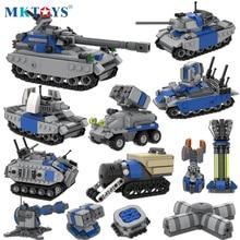 Red Military Alert Yuri Allied Soviet Tank Building Blocks WW2 Weapon Creator Army Assembled MOC Bricks DIY Model Toys For Kids