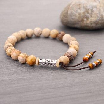 Bracelet traditionnel bouddhiste tibétain