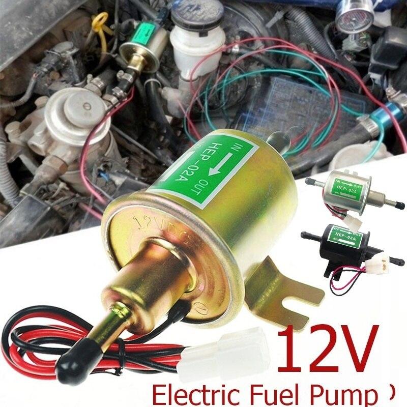 Электрический топливный насос низкого давления 12 В, Болтовая фиксирующая проволока, металлические бензиновые, бензиновые, дизельные масляные насосы для автомобилей, мотоциклов