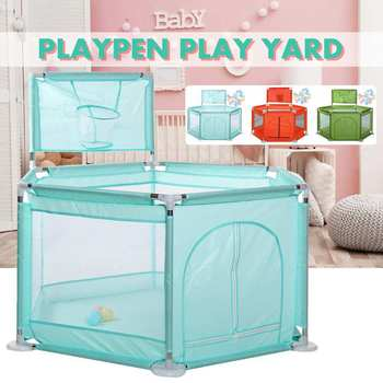 Baby Playpens for Children Safety Playpen Pool Balls Playpen For 0-6 years Ball Pool for Baby Fence Kids Tent Baby Ball Pool