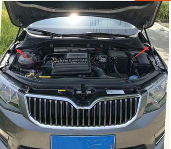 For 2016-2019 Skoda Octavia A7 MK3 Car-styling Refit Bonnet Hood Gas Shock Lift Strut Bars Support Rod
