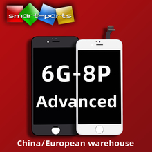 1PC ใหม่ Extra Bright LCD ขั้นสูงสำหรับ iPhone 6s 7 8 PLUS จอแสดงผล LCD Touch Screen Digitizer ASSEMBLY เต็มรูปแบบดูมุม