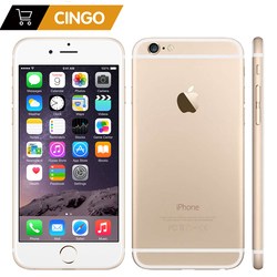 Unlocked Apple Iphone 6 IOS Dual Core 1.4G Hz 4.7 Inch RAM 1GB ROM 16/64/128GB 8.0 MP Kamera 3G WCDMA LTE Digunakan Ponsel
