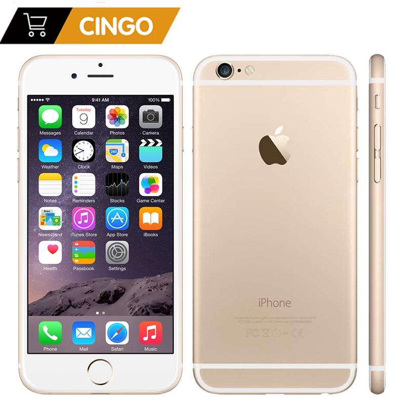 Разблокированный Apple iPhone 6 на базе IOS Dual Core 1,4 ГГц 4,7