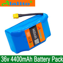 100% New 36v 4.4ah lithium battery 10s2p 36v battery 4400mAh lithium ion pack 42V 4400mah scooter twist car battery(China)