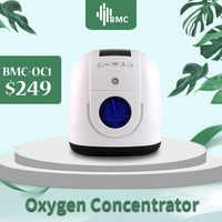 BMC przenośny koncentrator tlenu z kaniuli do nosa Homecare maszyna medyczna tlen tanque de oxigeno medicoe quipos medicos
