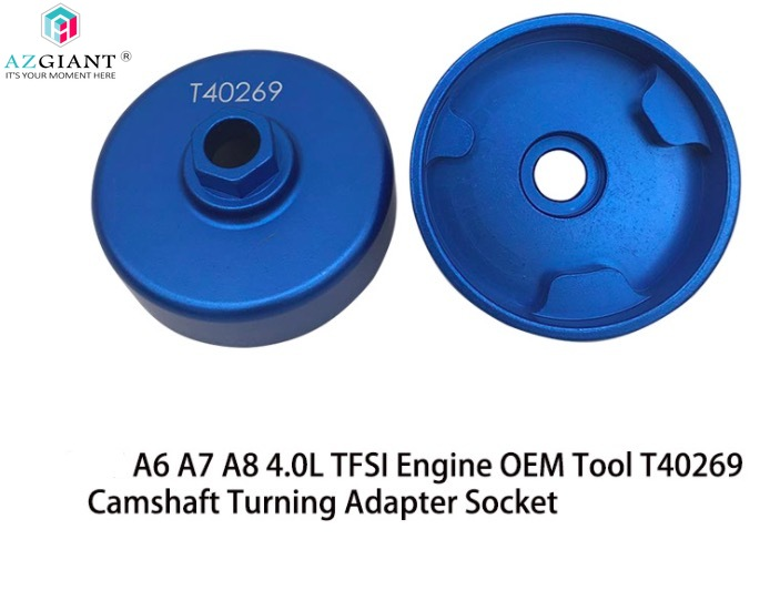 1pcs for Audi A6 A7 A8 4.0L TFSI Engine OEM Tool T40269 Camshaft Turning Adapter Socket