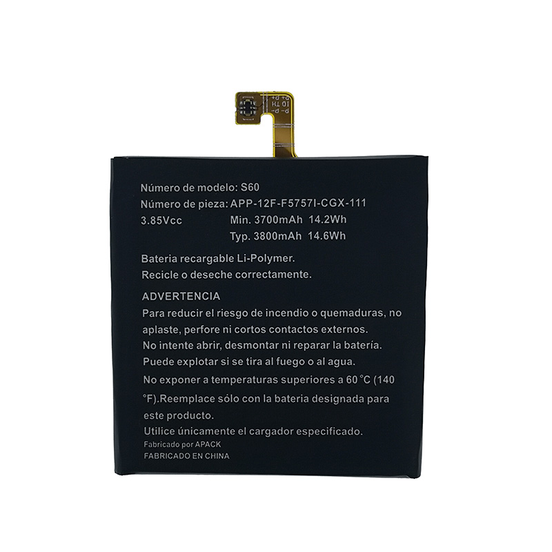 NEW Original 3800mAh S60 Battery For CAT S60 APP-12F-F57571-CGX-111 High Quality Battery + Tracking Number