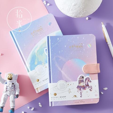 1 pcs fivela magnetica caderno pintado pagina