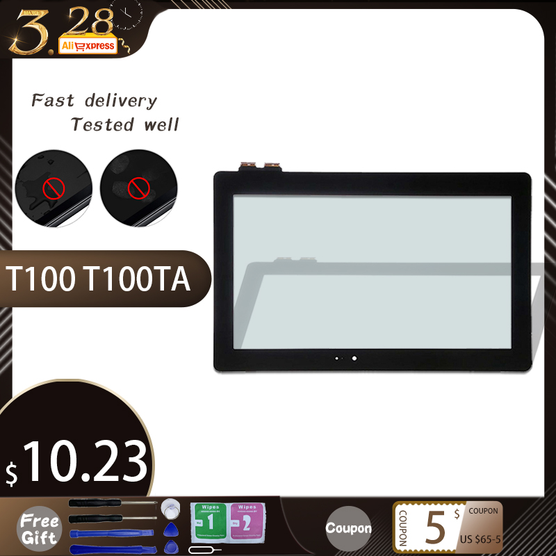 Original10.1'' For Asus Transformer Book T100 T100TA FP-TPAY10104A-02X-H Touch Screen Digitizer Panel Sensor Glass Replacement