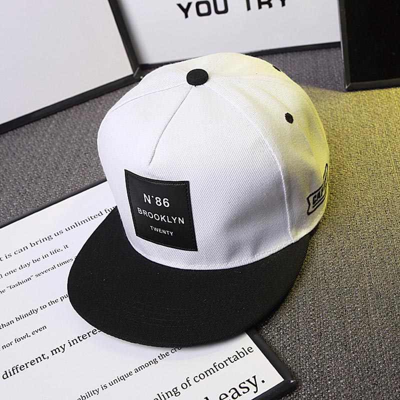 2020 yeni erkek bayan BROOKLYN harfler düz renk yama beyzbol şapkası Hip Hop kapaklar deri güneş şapkası snapback şapka