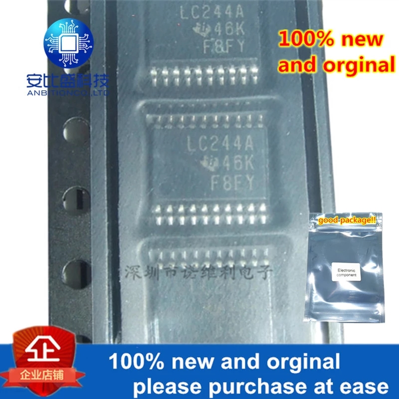 10pcs 100% New And Orginal SN74LVC244APWR LC244A TSSOP20 In Stock