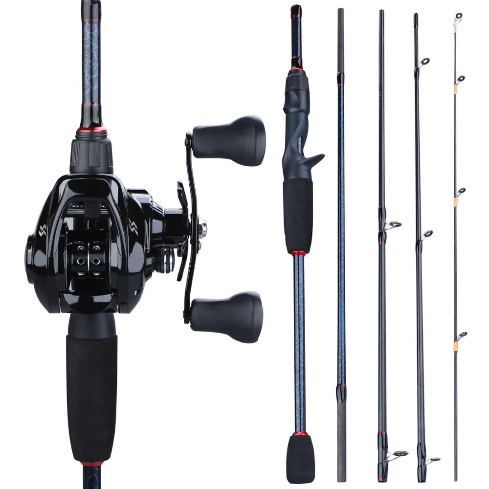 Section, And, Pole, Portable, Set, Casting