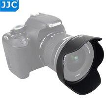 Capa da lente da câmera jjc para canon EF S 10 18mm f/4.5 5.6 é stm substitui EW 73C