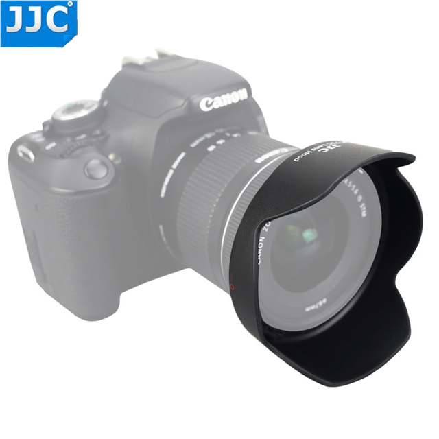 JJC Camera Lens Hood for Canon EF S 10 18mm f/4.5 5.6 IS STM replaces EW 73C