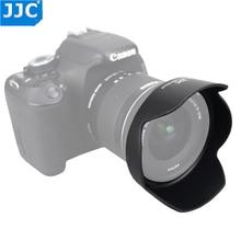 JJC מצלמה עדשת הוד עבור Canon EF S 10 18mm f/4.5 5.6 הוא STM מחליף EW 73C