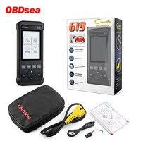Launch Creader CR619 ABS SRS Airbag O2 Sensor Monitoring Scanner ABS SRS Airbag OBD2 Code Reader Crash Data Car Diangostic Tool