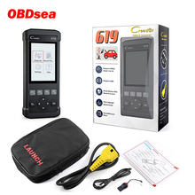 Launch Creader CR619 ABS SRS Airbag O2 Sensor Monitoring Scanner ABS SRS Airbag