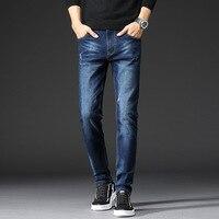2020 New Jeans for Men Slim Fit Pants Classic Jeans Male Denim Jeans Designer Trousers Casual Pants